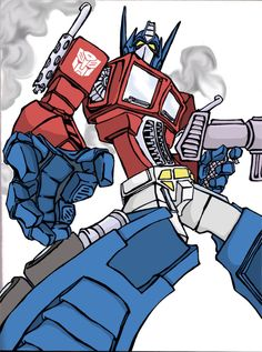 Optimus Prime by lu-da-chris on DeviantArt Transformers Characters, Transformers Optimus Prime, Live Action Movie, Action Movies, Transformers Generation 1, 80 Cartoons, Now And Then Movie, Thundercats, Bounty Hunter