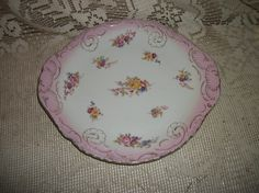 Carlsbad China Austria Roses Design Platter by FabulousFinds1