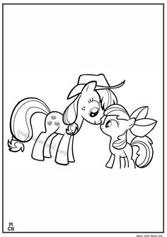 29 Best My Little Pony Coloring Pages Free Online Images On Pinterest