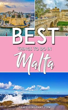 Discovering Malta, Gozo and Comino with locals! The best things to do in Malta (Europe) with tips and tricks. Includes info on Island of MTV! Europe Travel Guide, Europe Destinations, Travel Guides, Backpacking Europe, Travel List, Budget Travel, Montenegro, Bon Plan Voyage, Holland