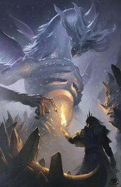 Seath, o dragão sem Escamas (morto)
