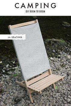DIY beach/camp chair