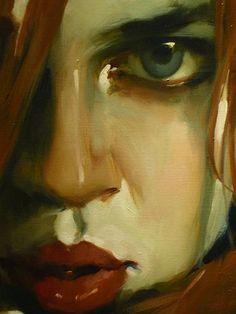 My inspiration to paint again ☆ Malcom Liepke, Figure Painting, Painting & Drawing, Portrait Art, Pencil Portrait, You Draw, Art Graphique, Equine Art, Face Art