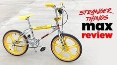 Stranger Things Max Mayfield Mongoose BMX Bike Review