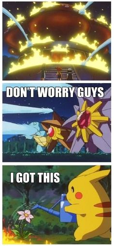 Pikachu is the boss // funny pictures - funny photos - funny images - funny pics - funny quotes - #lol #humor #funnypictures