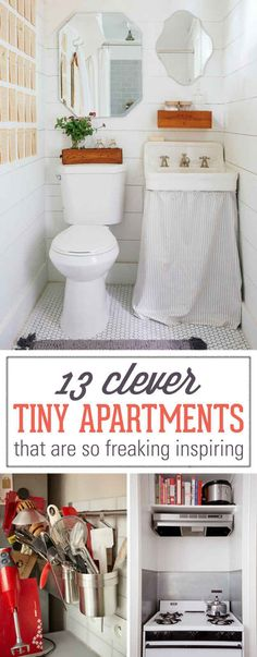 13 Clever Tiny Apartments That Are So Freaking Inspiring                                                                                                                                                     More