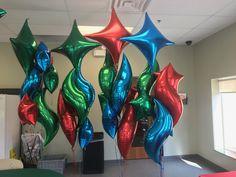 Foil balloon bouquets