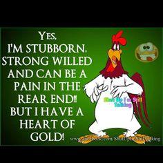 FOGHORN LEGHORN HEART OF GOLD