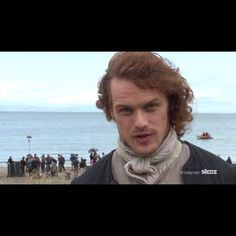 @samheughan fully expects you to be watching tonight's new episode of #Outlander.