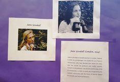 Febrero: Día da Muller na Ciencia Jane Goodall, Polaroid Film, Life, February, Science