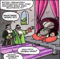 Batı ve Biz Karikatürü Özer Aydoğan | Karikatürname