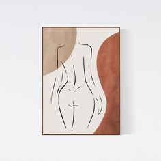 Line Drawing, Painting & Drawing, Drawing Tips, Female Body Paintings, Female Body Art, Abstract Line Art, Painting Abstract, Diy Canvas Art, Minimalist Art
