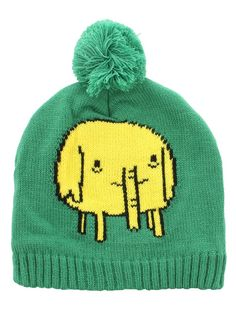 3b4951a2e70 Adventure Time Tree Trunks Green AT Bobble Beanie