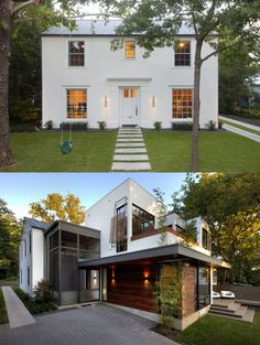 Rad house mixing traditional and modern. // Hugh Randolph Architects