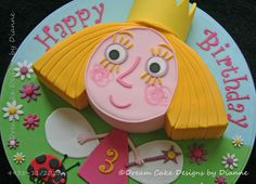 ben and holly cake ideas Ben And Holly Party Ideas, Ben And Holly Cake, Ben E Holly, Cute Birthday Cakes, Birthday Treats, 3rd Birthday Parties, 4th Birthday, Poppy Cake, Little Pony Cake