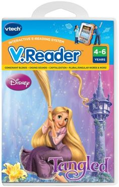 VTech  VReader Software  Disneys Tangled >>> You can find more details by visiting the image link.Note:It is affiliate link to Amazon. #fashion