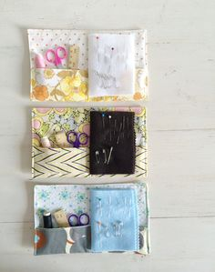 Tutorial - simple sewing kits @  SugarBeans, thanks so for sharing xox