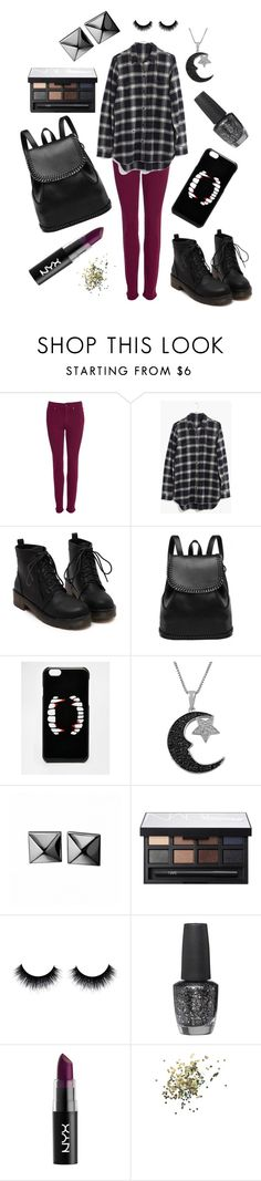 """""""Ash"""" by jadebowman on Polyvore featuring Barbour, Madewell, ASOS, Jewel Exclusive, Waterford, NARS Cosmetics, OPI and Topshop"""