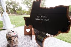 Texas Wedding Guest Book Alternative by CoosaDesigns on Etsy