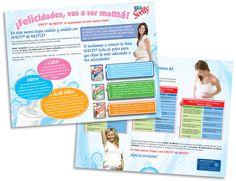 Diseño publicitario/editorial - Stop Diseño Gráfico - Diseño de Block Svelty maternidad - Nestlé México.