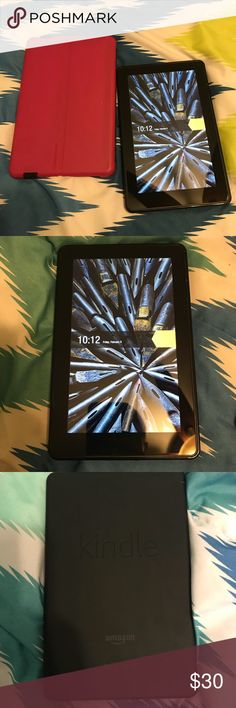 "Kindle Fire 1st edition 7"" Good Condition, still works good. Perfect starter tablet for a child or an adult   Comes with ""Portfolio"" case Other"