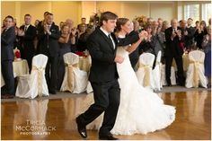 Bride and Groom First Dance - Berkshire Hills Fall Wedding - Tricia McCormack Photography