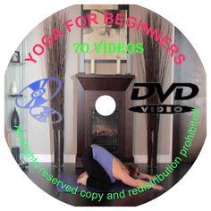 Yoga DVD Video Sets - Beginners Yoga & Intermediate Yoga On DVD Sets 1-7