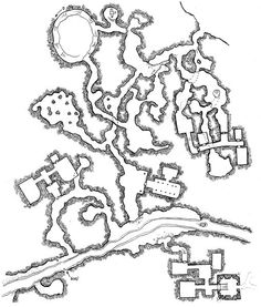 [Tuesday Map] The Stony Recesses & Tower of Verrul