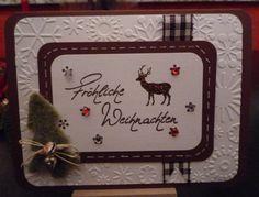 Karte, Weihnachten, Fröhliche Weihnachten