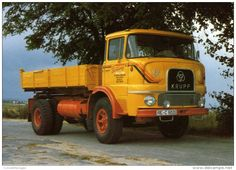 CAMION - KRUPP KF980 - 1969 - CM. 11 X 16 - N 072 - Camions & Poids Lourds