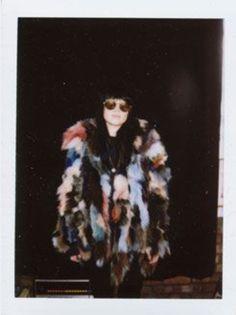 Alison Mosshart multicolored coat