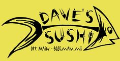Dave's Sushi - Off Main Bozeman, Montana  Crab&Cream Cheese Wontons. Just do it. Thank me later.