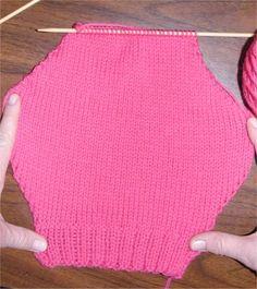 Free Knitting Soaker Pattern
