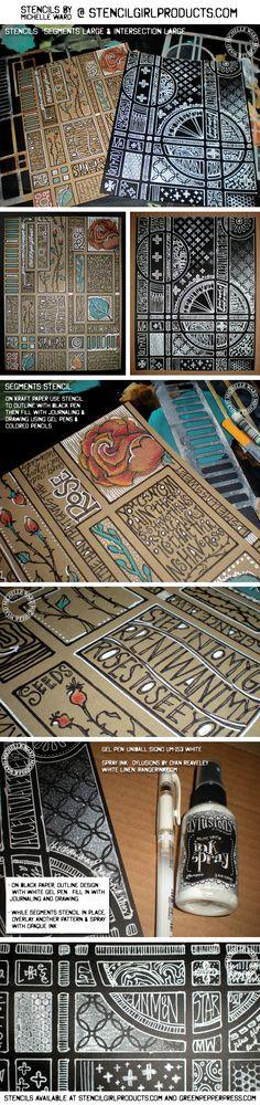 StencilGirl Products by MICHELLE WARD