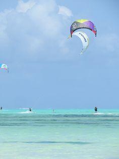 Kitesurfing i Jambiani, Zanzibar