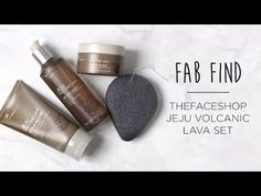 Move over, charcoal! There's a new detoxifying skincare ingredient to try! Korean skincare brand, THEFACESHOP recently launched a new line-up of products infused with volcanic ash from the island of J