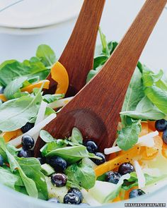 Summer Salad with Blueberries - Whole Living Eat Well