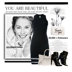 """""""Thank You......"""" by conch-lady ❤ liked on Polyvore featuring Alexander Wang and Balenciaga"""