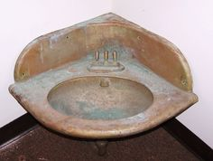 Copper Corner Sink : ... vintage pullman copper corner sink Cars, Corner sink and Vintage