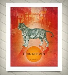 Chinatown Neighborhood Print by theGRQP on Scoutmob Shoppe