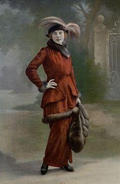 Les Modes (Paris) 1914 Costume Tailleur par J. Dukes