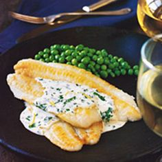 You can use any type of sole for this dish, such as Petrale, lemon, or gray. They're all delicate in flavor, as is the simple lemon cream sauce. The b...