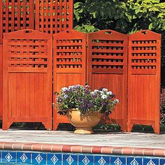 4-Panel Privacy Screens