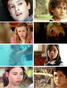 LOST children. They really were brilliant with casting! Jack, Hugo, Juliet, James, Charlie, Sun, Katie, Sayid.