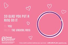 We know you love your birth control method, but did you know your method loves you back? #wheresthefp