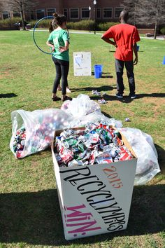 """In 2015, participating schools recycled or composted 80.1 million pounds of recyclables and organic materials, preventing the release of 129,411 metric tons of carbon dioxide equivalent into the atmosphere, which is equivalent to preventing annual emissions from 25,375 cars!  RecycleMania, run by UT Recycling is a great way to get students and staff to help contribute to the 5 """"R's"""" of waste reduction!"""