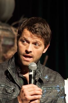 Misha Collins, VegasCon2014. The things I'd do for this man.