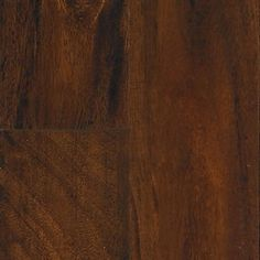 "Show details for Mannington Adura 5"" Plank-Distinctive & Provence Acacia African Sunset, dark brown vinyl tile, microbevel surface"