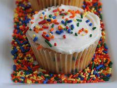 Gluten-Free Funfetti Cupcakes!