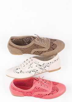 Oxfords de crochet!